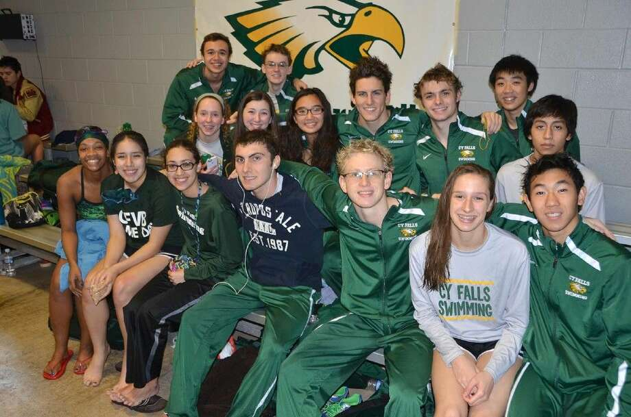 Eight Cypress Falls High School swimmers and divers were among the 25 districtwide TISCA Academic All-State honorees.