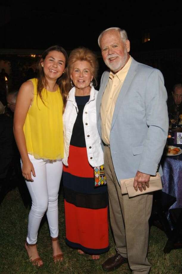 Ashley Murchison with grandparents and honorees Christy and John Murchison at the KPC gala. Photo: Tom DuBrock