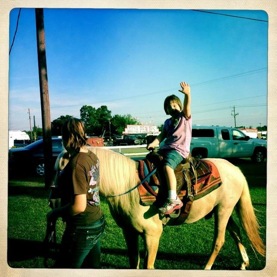Pony rides will be available at the BACH Barn Bash.