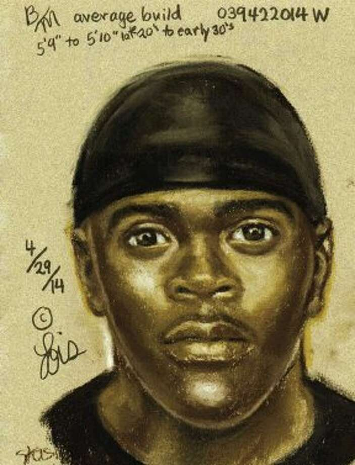 The suspect was seen in a black PT Cruiser or Chevy HHR style vehicle. He is described as a black male in his late 20s to early 30s with an average build and between 5 feet 9 inches and 5 feet 10 inches tall.