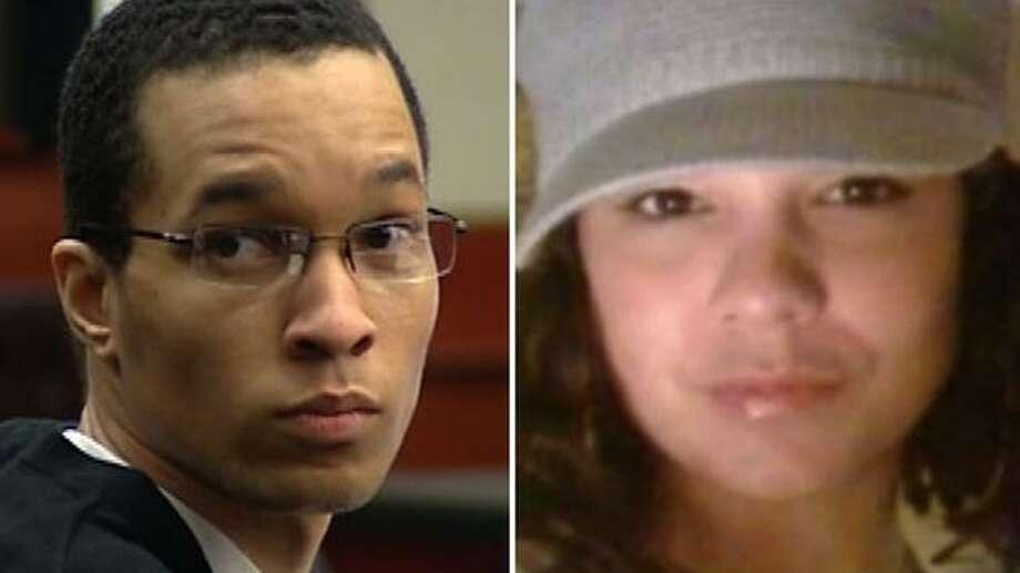 Cornelius Milan Harper (left);Leiah Jackson (right). Photo: ABC13 Eyewitness News
