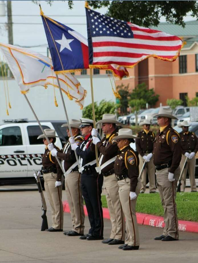 peace officers memorial at the fort bend county sheriff s office