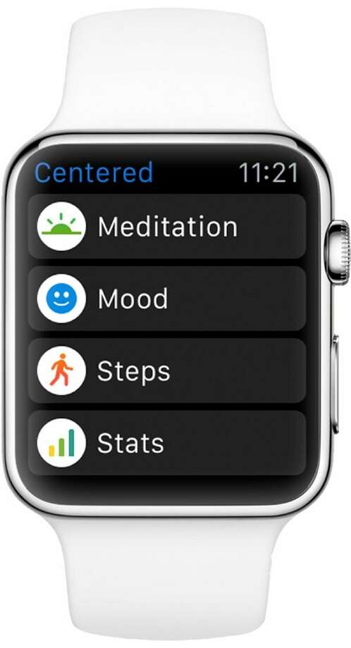 """The Centered App has been named a """"must-have"""" App for the new Apple Watch."""