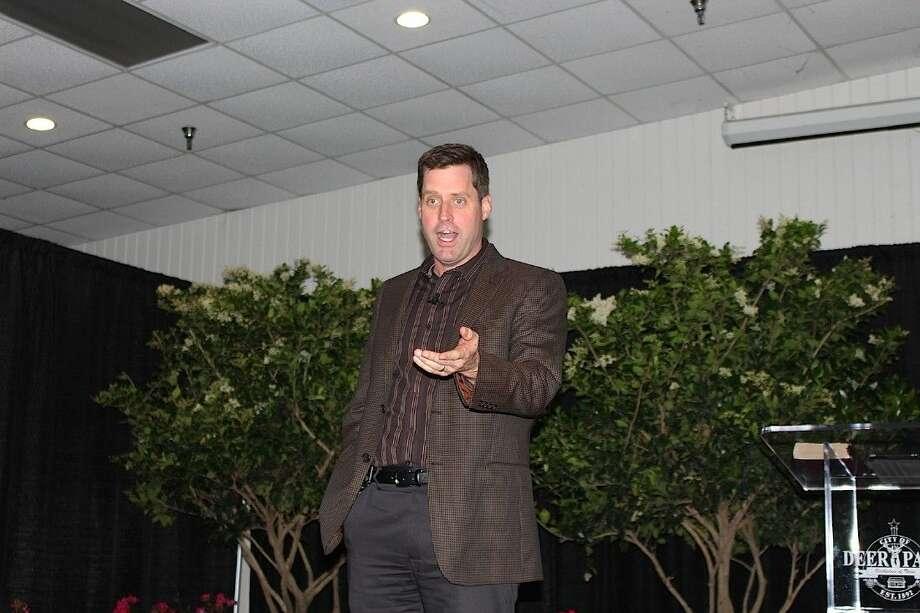 Pastor Garrett Booth of Grace Houston.