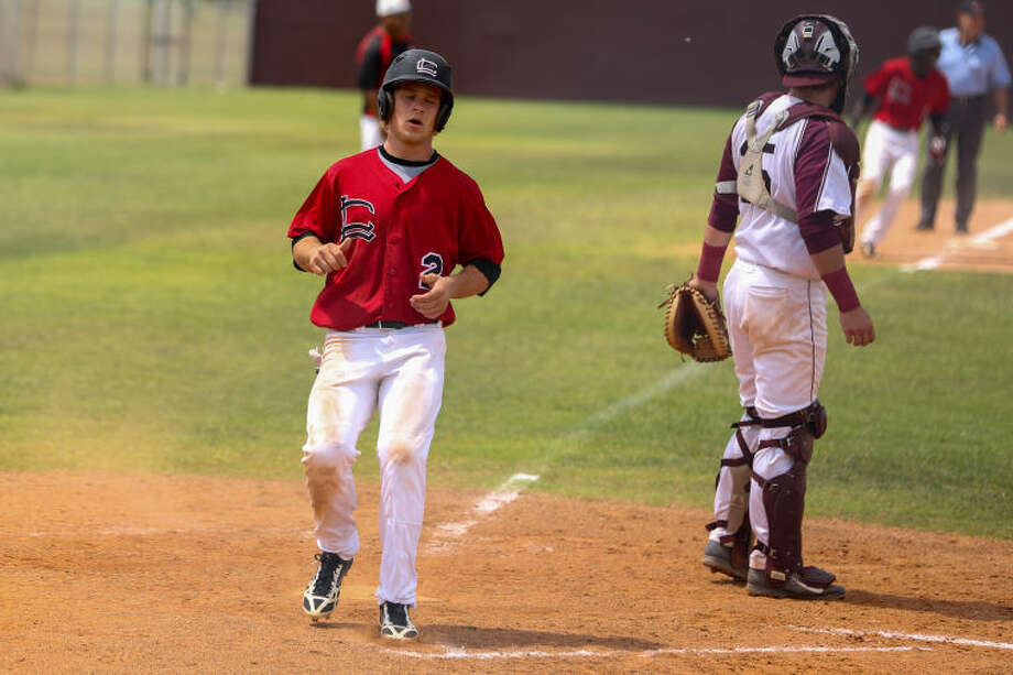 Langham Creek's Tyler Rand (2) was 3 for 5 with an RBI and two stolen bases in Thursday's win over Katy Taylor. Photo: Michael Minasi/FILE PHOTO
