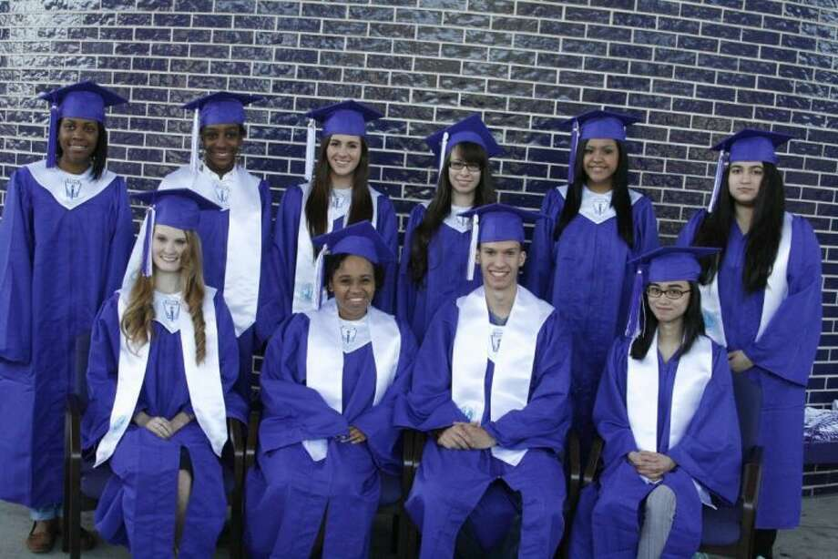 It was a surprise for the top 10 students of the 2014 Humble High School graduating class to find out their ranking during the annual graduation breakfast May 15, 2014.