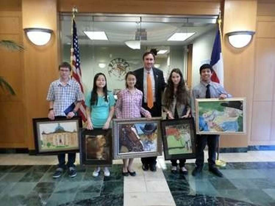 (Left-right) Yy Patterson, Catherine Nguyen, Stacy Tao, Madison Ward and Julian Ybarra. Photo: Submitted Photo