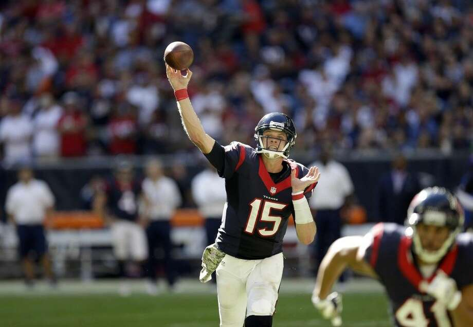 Texans quarterback Ryan Mallett played poorly in Sunday's 22-13 loss to the Cincinnati Bengals.