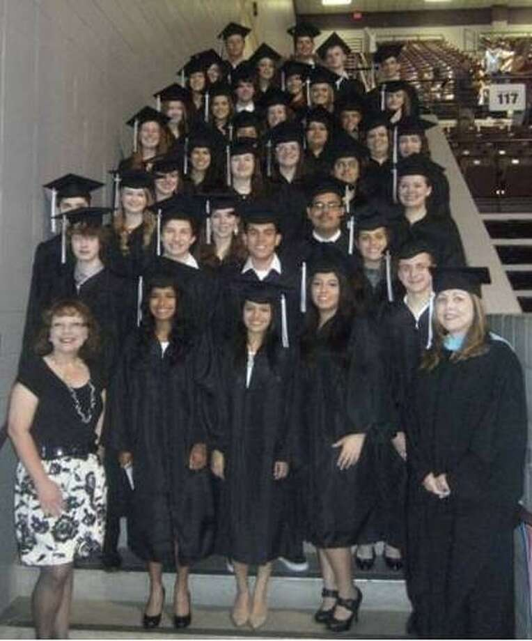 A growing number of Splendora ISD students have chosen to take place in the early college program offered by the district. This year, 37 students walked across the stage at Lone Star College Kingwood to receive an associate's degree. Photo: Submitted Photo