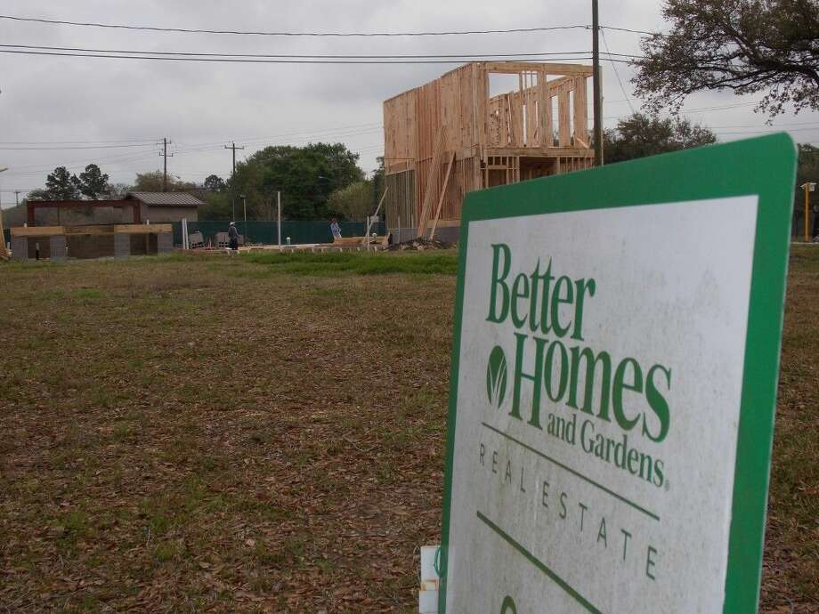 The Houston Association of Realtors reports sales of single-family homes in the Houston market declined in February, marking the first drop in sales in over six months.