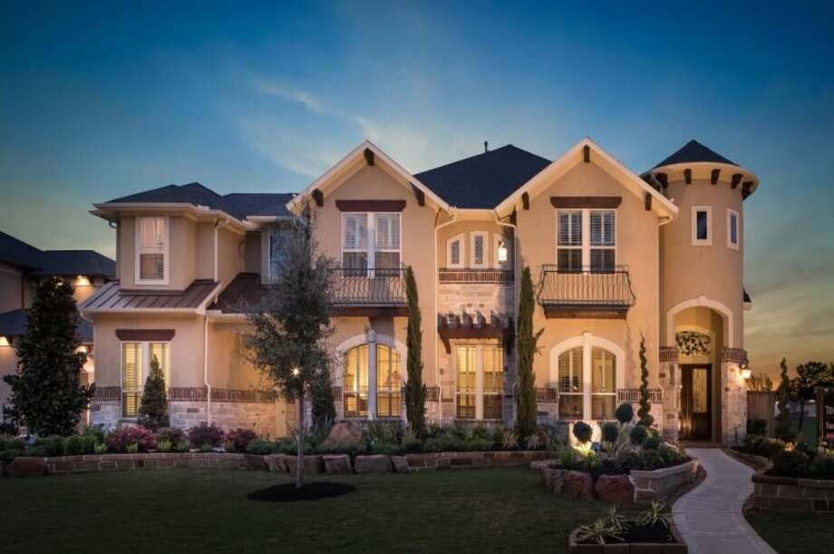 Builders open new model homes in riverstone houston for Riverstone house