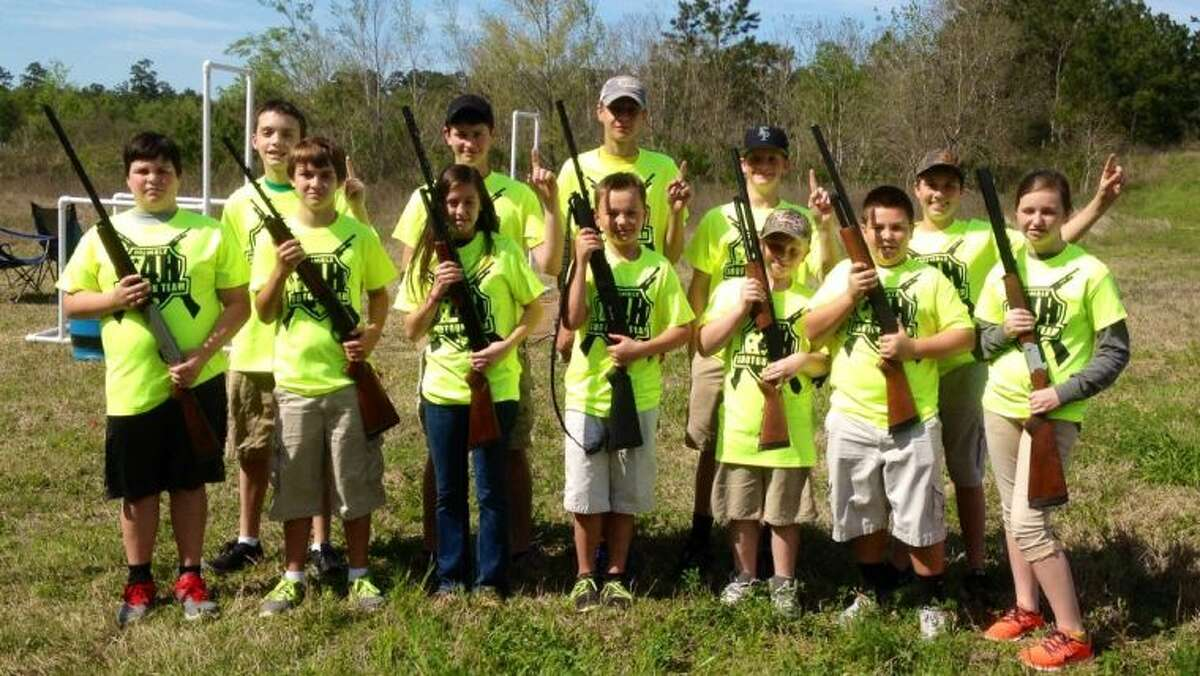 The Humble 4H Team picture back row, from left Connor Hudson, Travis Haden, Logan Leatherwood, Logan Moon and Tanner Riggle. Front row, from left Zach McQuary, Cameren May, Katie Haden, Skylar Leatherwood, Colton, Colbert, Curtis Lemelle and Haily Fain.
