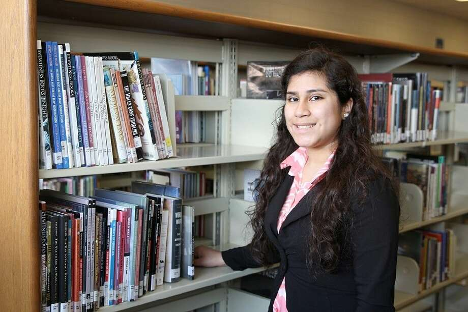 Alicia Olivo, senior at Sam Rayburn High School, earned all points possible on the Spanish Language and Culture AP Exam, a feat only 91 others have ever accomplished.