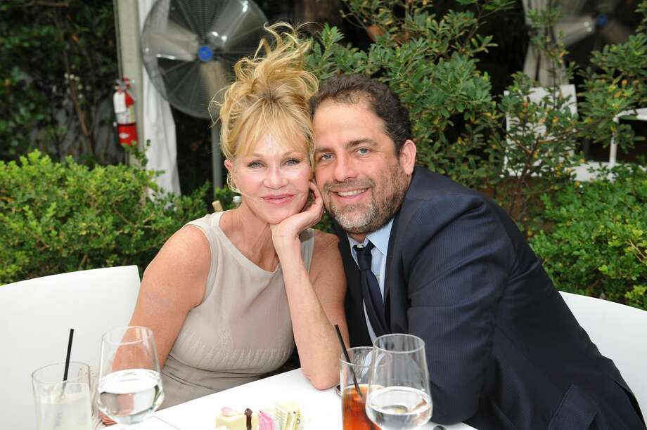 LOS ANGELES, CA - SEPTEMBER 27:  Actress Melanie Griffith (L) and director Brett Ratner celebrates ground-breaking achievements in cancer research at Revlon's Annual Philanthropic Luncheon at the Chateau Marmont on September 27, 2016 in Los Angeles, California.  (Photo by Donato Sardella/Getty Images for Revlon) Photo: Donato Sardella/Getty Images For Revlon