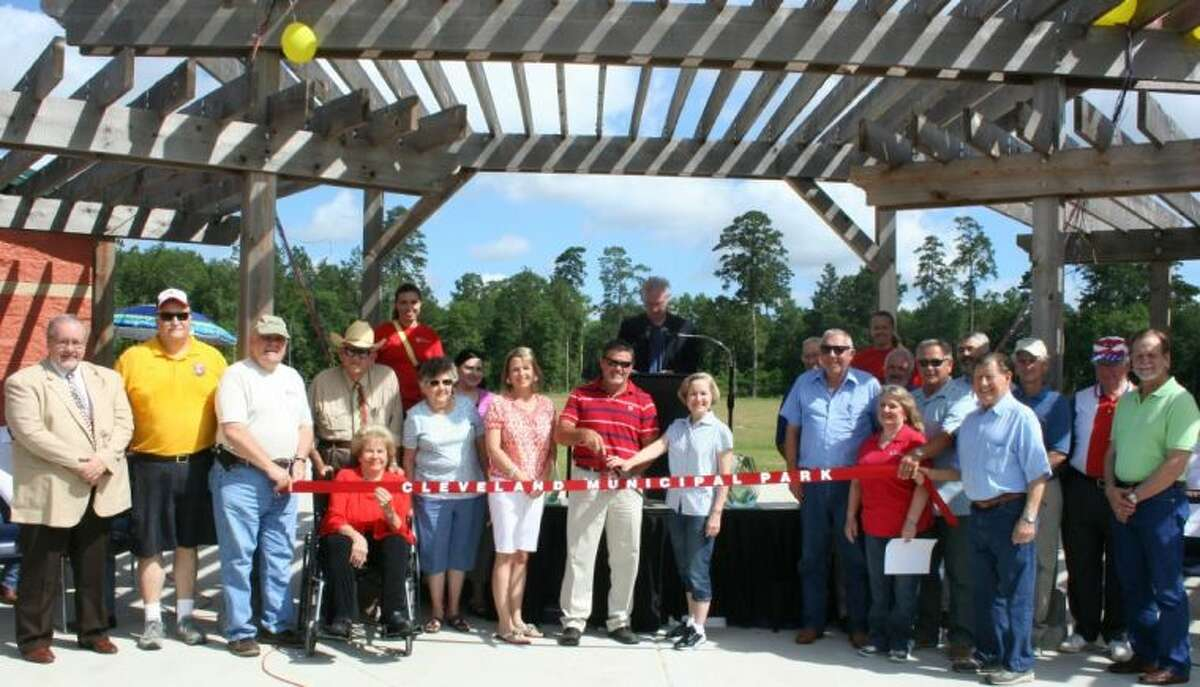 The Greater Cleveland Chamber of Commerce hosted a ribbon cutting ceremony for the new Cleveland Municipal Park on June 7, 2014.