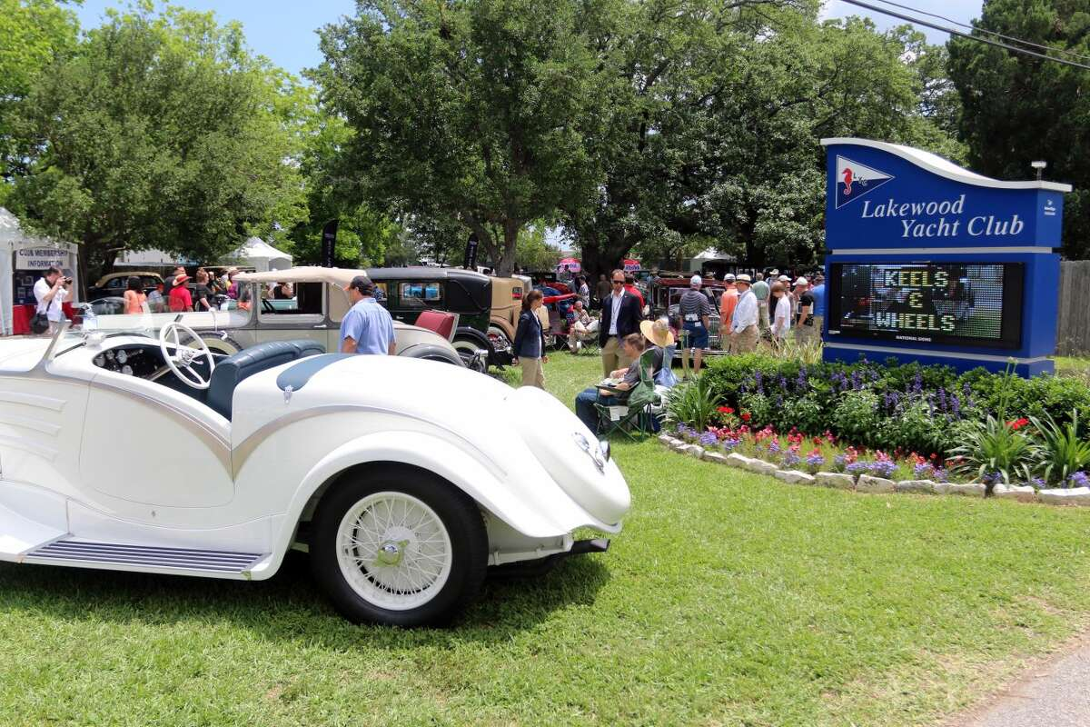 Keels & Wheels Concours d'Elegance which is held at Lakewood Yacht Club celebrated 20 years of shows.
