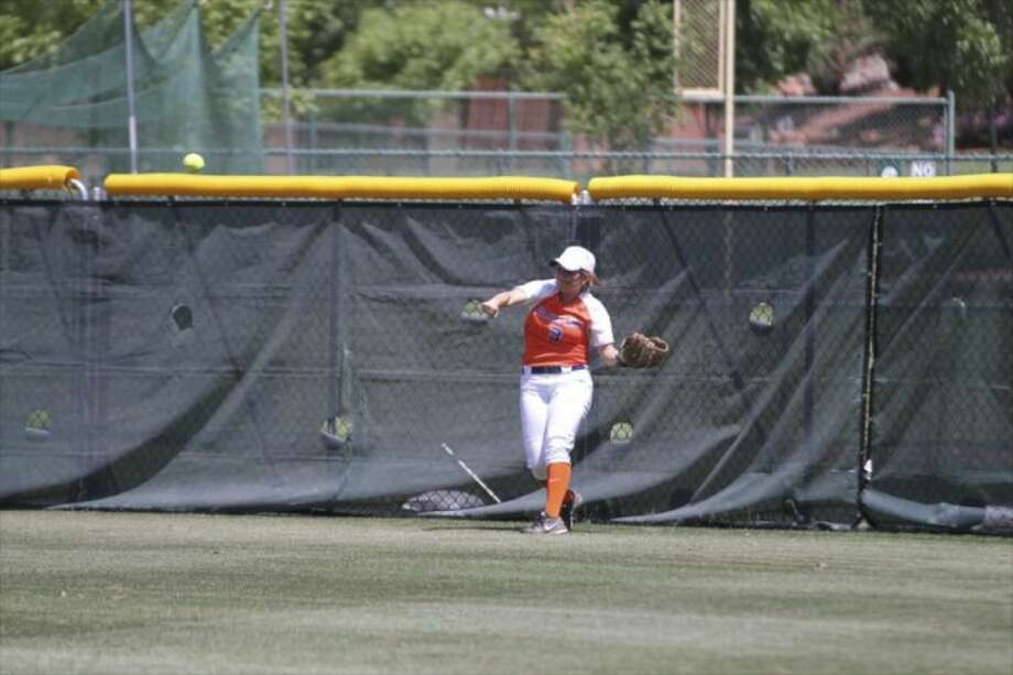 Madalyn Sumrall plays right field for the Roadrunners and was named MVP at the NJCAA Div. I national championships. More photos at http://sgphotos.smugmug.com/2014-NJCAA-Division-I-Softball Photo: Courtesy Of SGPhotos