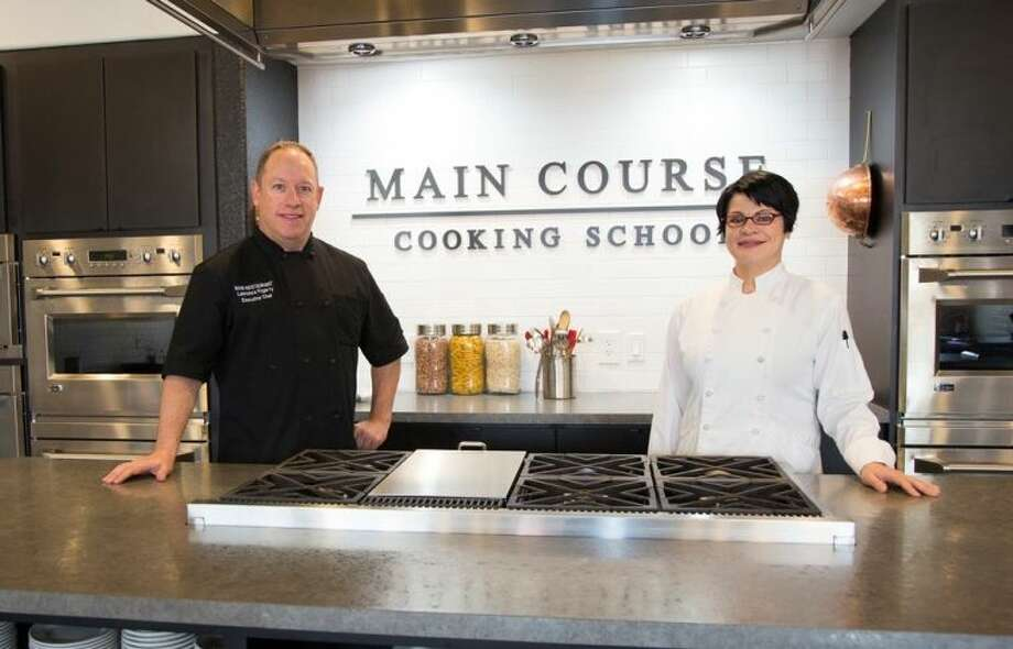 MAIN COURSE Cooking School Executive Chef Lawrence Fogarty and MAIN COURSE Cooking School Director and Chef Jenny Wilkerson have developed a series of cooking camps to encourage kids, ages 7 - 11 and teens, ages 12 — 17, to get into the kitchen and learn some basic skills.