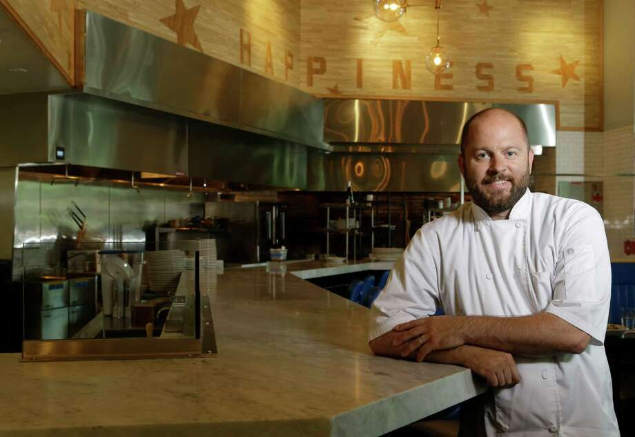 Travis Lenig, the former executive chef of Liberty Kitchen at the Treehouse,  963 Bunker Hill Rd., is opening a new restaurant, Field & Tides in the former Zelko Bistro space in the Heights. Photo: Melissa Phillip, Houston Chronicle / © 2016 Houston Chronicle