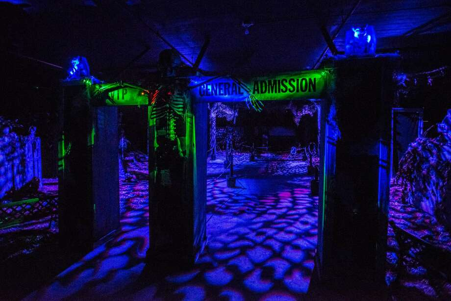 Night Stalkers Haunt opening September 9 at 906 Lapeer Ave. in Saginaw. Photo: Amanda Ray For The Daily News