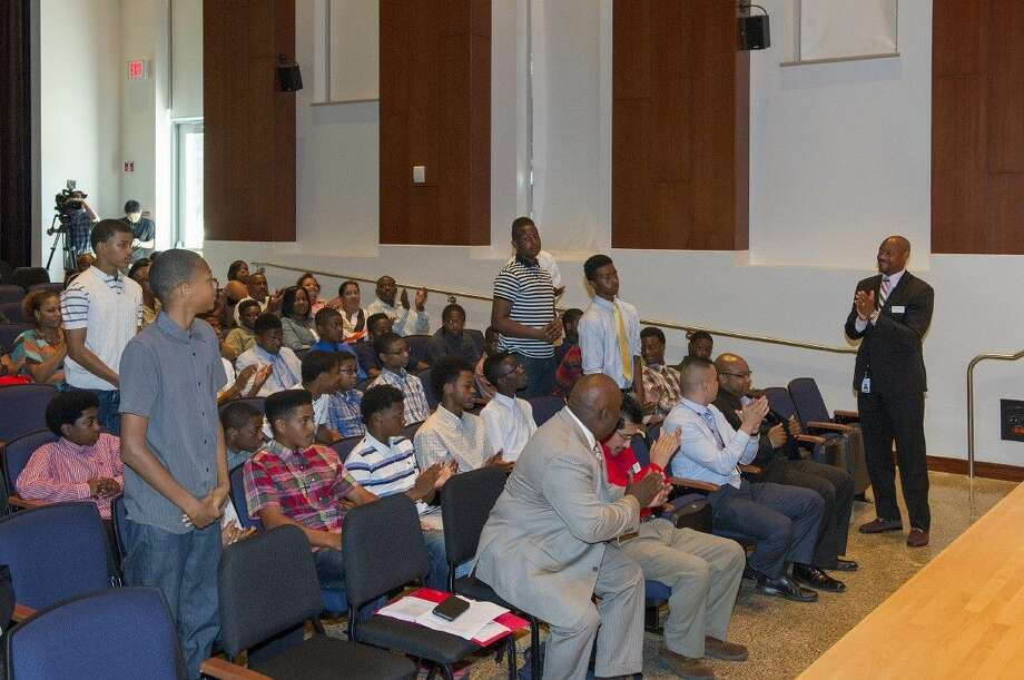 LSC-Kingwood's Men's Center will hold an African American Institute for Males to help students prepare for life after high school.