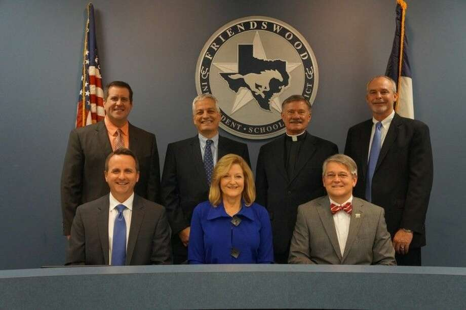 The Friendswood ISD Board of Trustees.