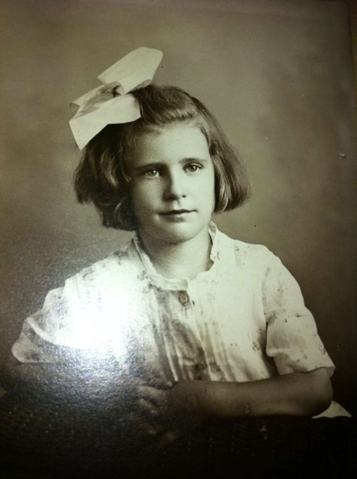 Margaret Ryan as a little girl. She turned 105 on May 16 and celebrated her birthday on May 17 at The Village of Gleannloch Farms in Spring.