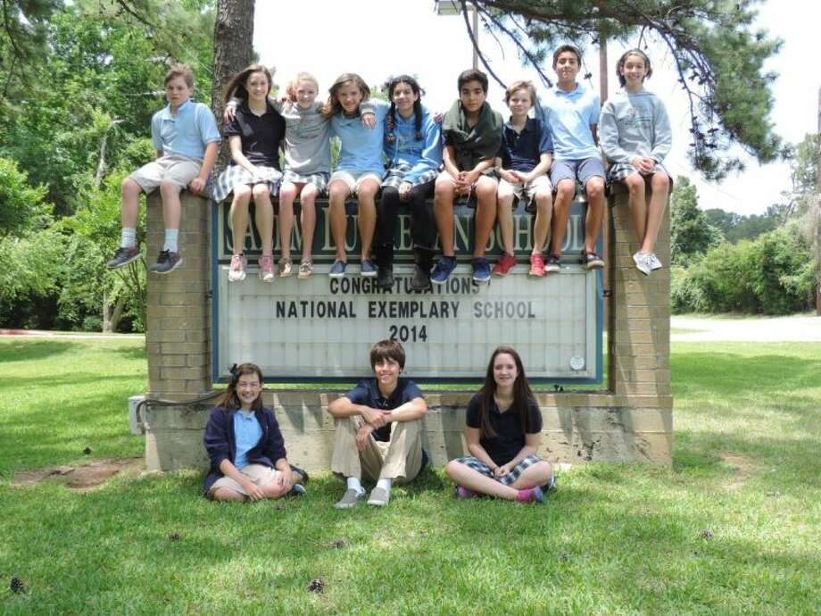 Salem Lutheran School's 7th and 8th grade photojournalism students. Celebrating 160 years of academic excellence and our school's recognition as being a 2014 National Exemplary School. Photo: Submitted Photo
