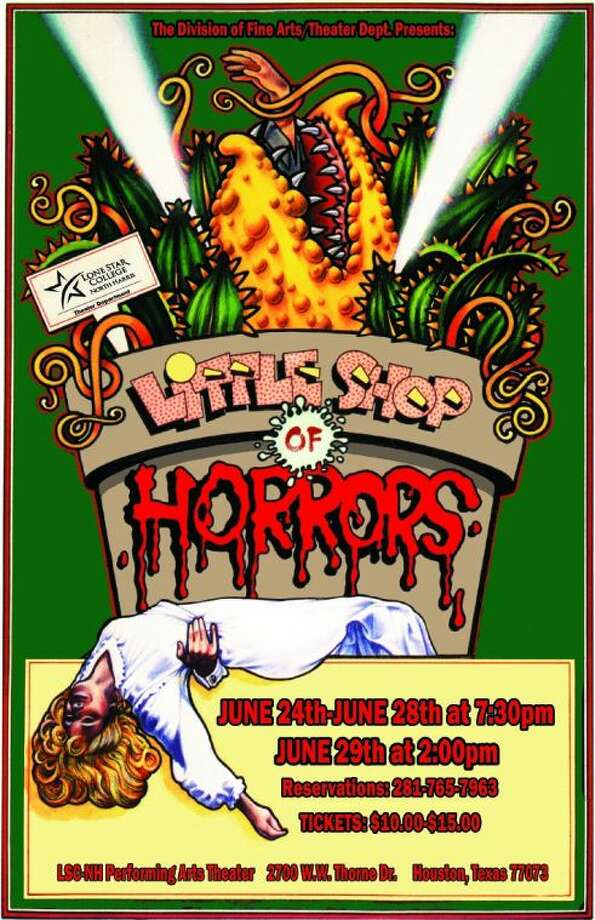 """The Lone Star College-North Harris Division of Fine Arts presents """"Little Shop of Horrors."""" Performances are scheduled for June 24-29. Photo: Submitted Photo"""
