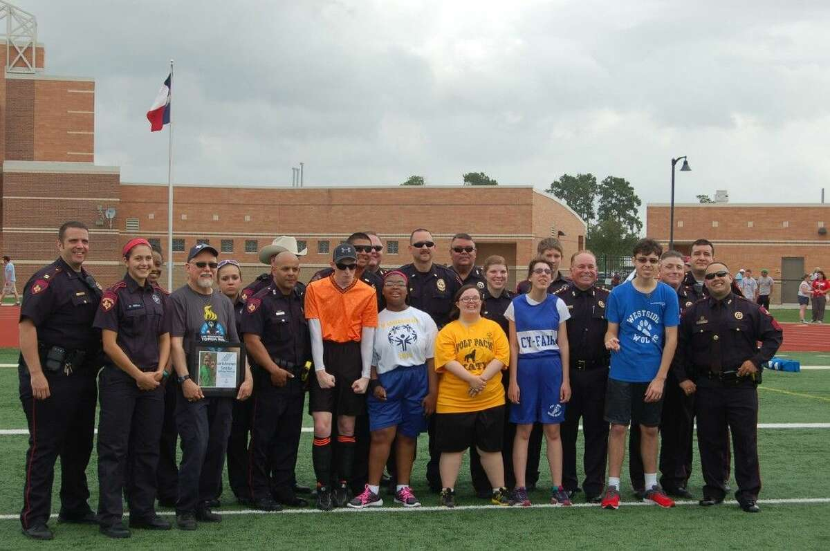 The Harris County Precinct 4 Constable's Office recently had the chance to participate in the Special Olympics' Torch Run May 9, 2015 at Humble's Turner Stadium.