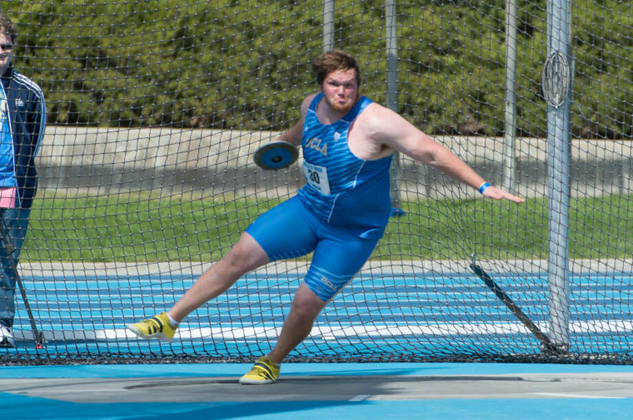 UCLA discus thrower Matthew Kosecki, a Humble High School grad, will compete in the NCAA Division I Men's Track and Field Championships in Eugene, Ore on Wednesday through Friday.