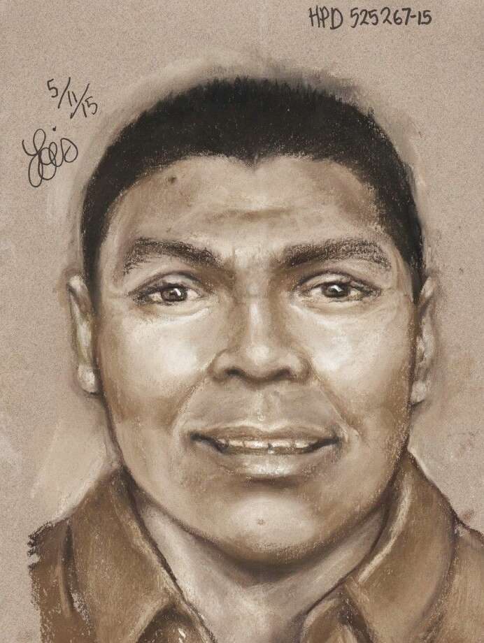 A composite sketch of the victim.