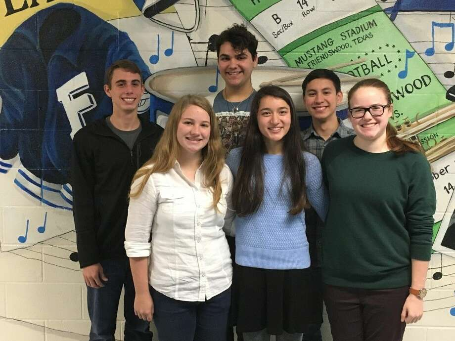 Pictured back row, left to right: Tyler Bandini, Andrew Morgan, Julian Falco. Front row, left to right, Gabi Rodriguez, Selina Vickery, Caroline Donovan.