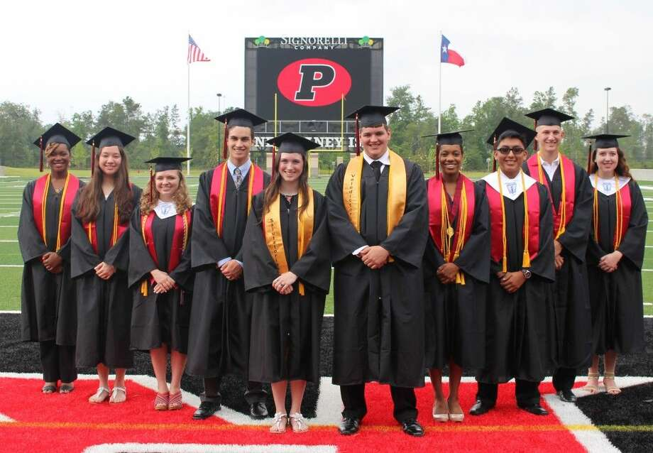 The Porter High School Top 10 graduating seniors were recognized last week during a special breakfast at Texan Drive Stadium.