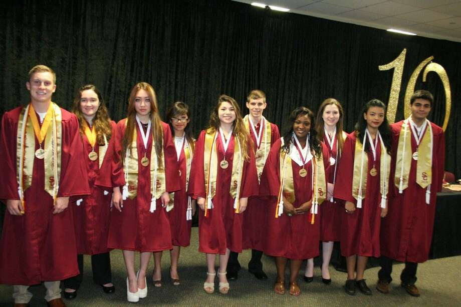The top 10 of the 2015 Summer Creek High School graduating class celebrated their ranking and the near-end of school with a special breakfast May 13, 2015.