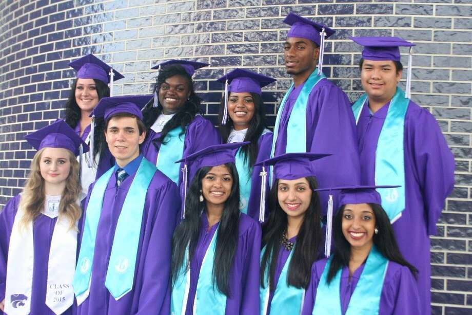 The top 10 seniors of the 2015 Humble High School graduating class were honored with a breakfast May 14, 2015.