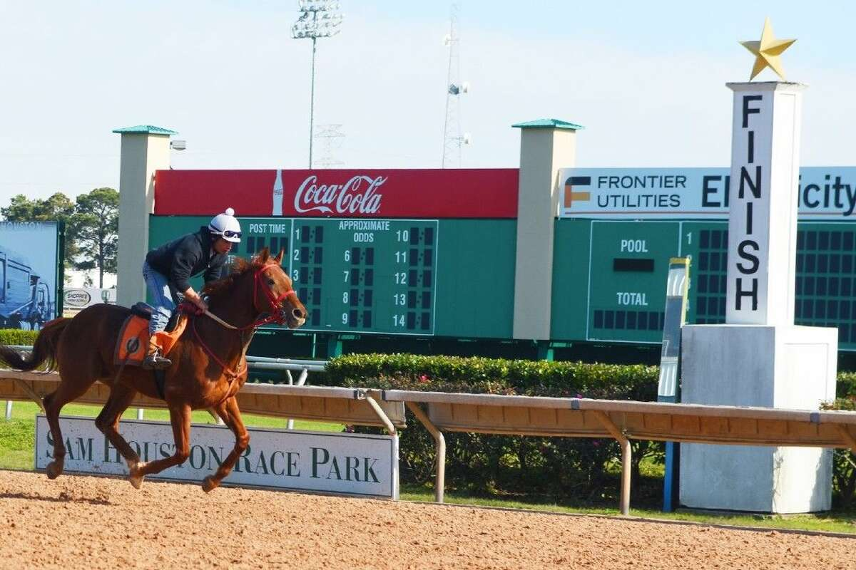 Thoroughbred racing at Sam Houston Race Park starts 7 p.m. Friday.