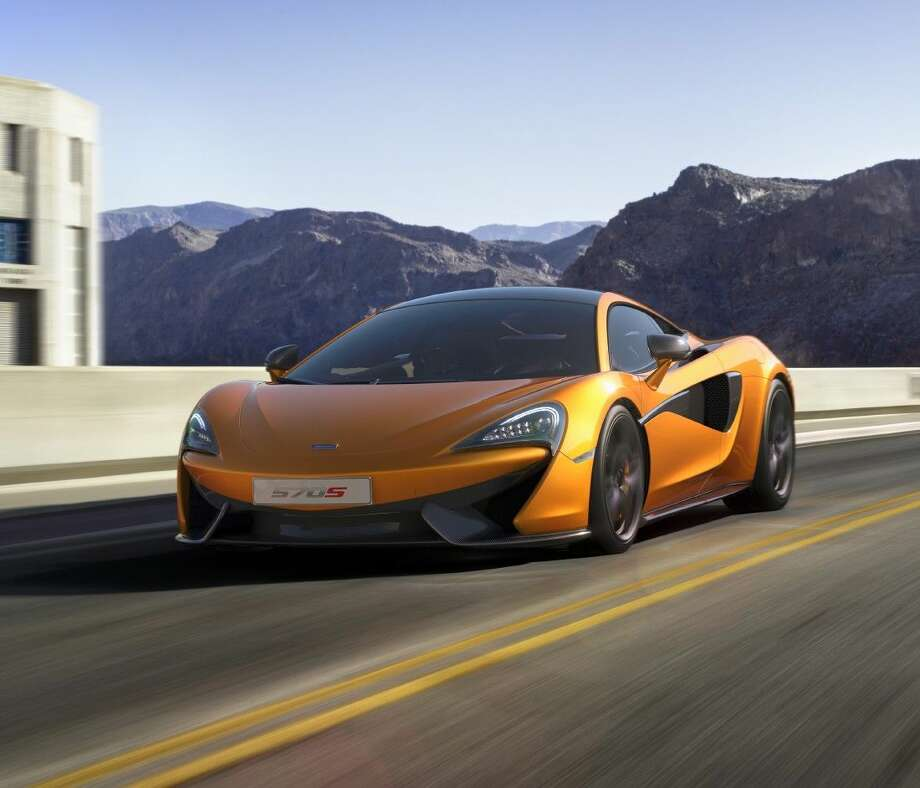 A McLaren Sports Series 570S is one of the styles which will be made available to Houston car buyers. Photo: Submitted Photo