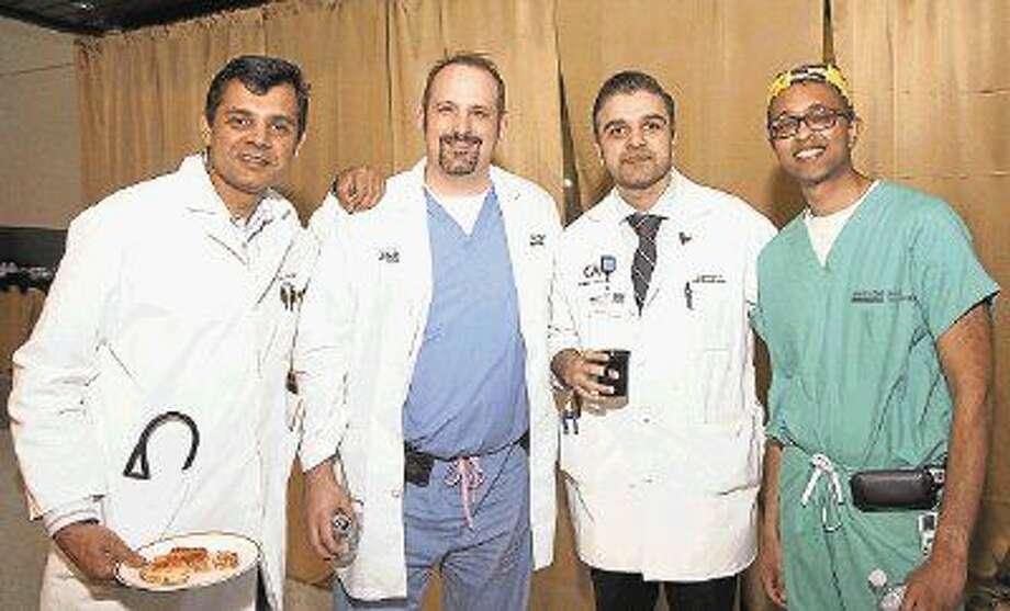 Majid Basit, M.D.; Bracken Kolle, M.D.; Ali Mahmood, M.D.; and Milan Sheth, M.D.