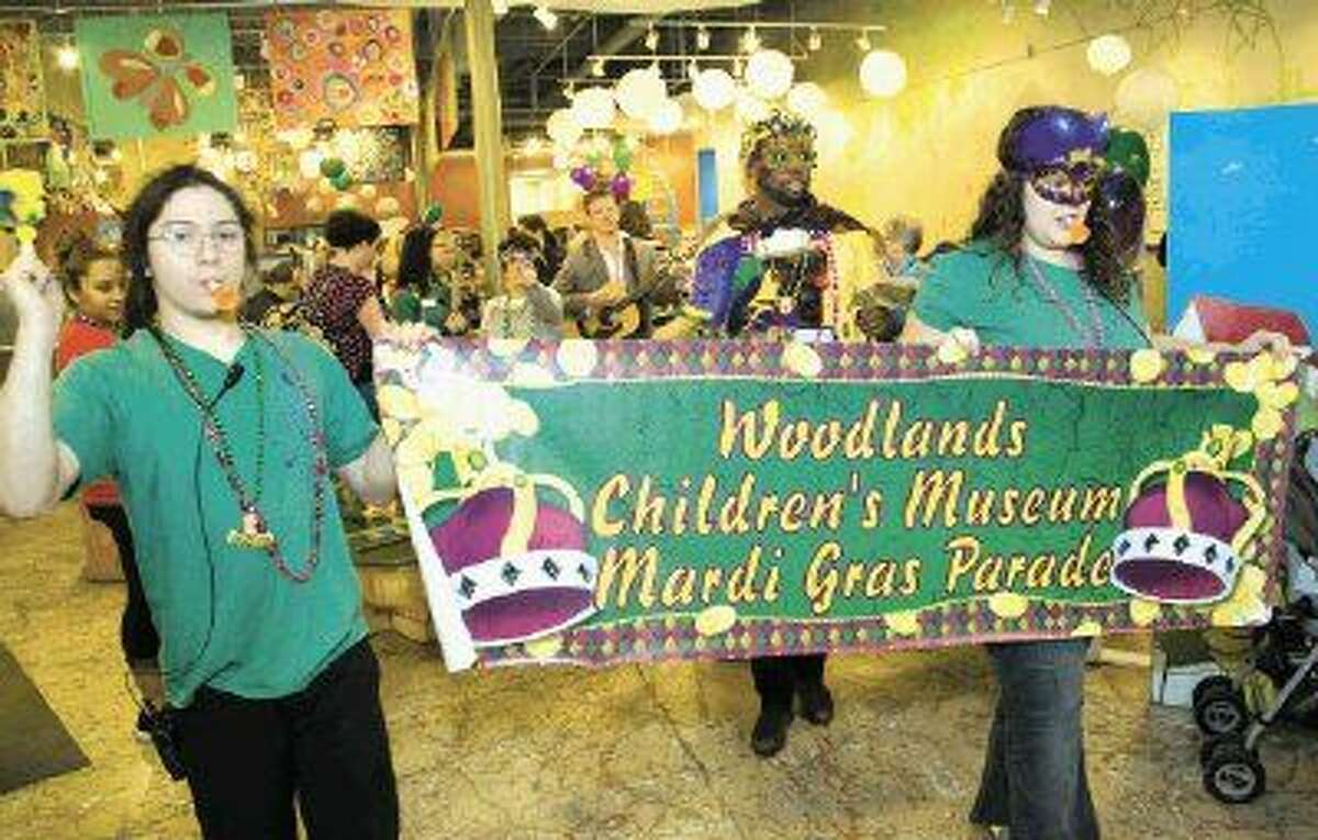 Let the good times roll at The Woodlands Children's Museum on Feb. 9, as the museum celebrates Mardi Gras with beads, masks, parades and other Mardi Gras traditions.
