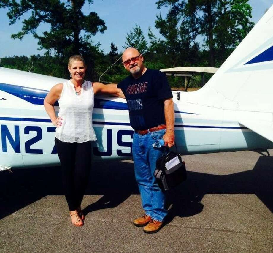 Louisiana native Amy Avant, who is currently fighting Stage 4 Metastatic Breast Cancer, credits the Pilots for Patients Program, along with Clay and Darline Dean of Cleveland Municipal Airport, with helping make the fight a little easier. Photo: Submitted Photo