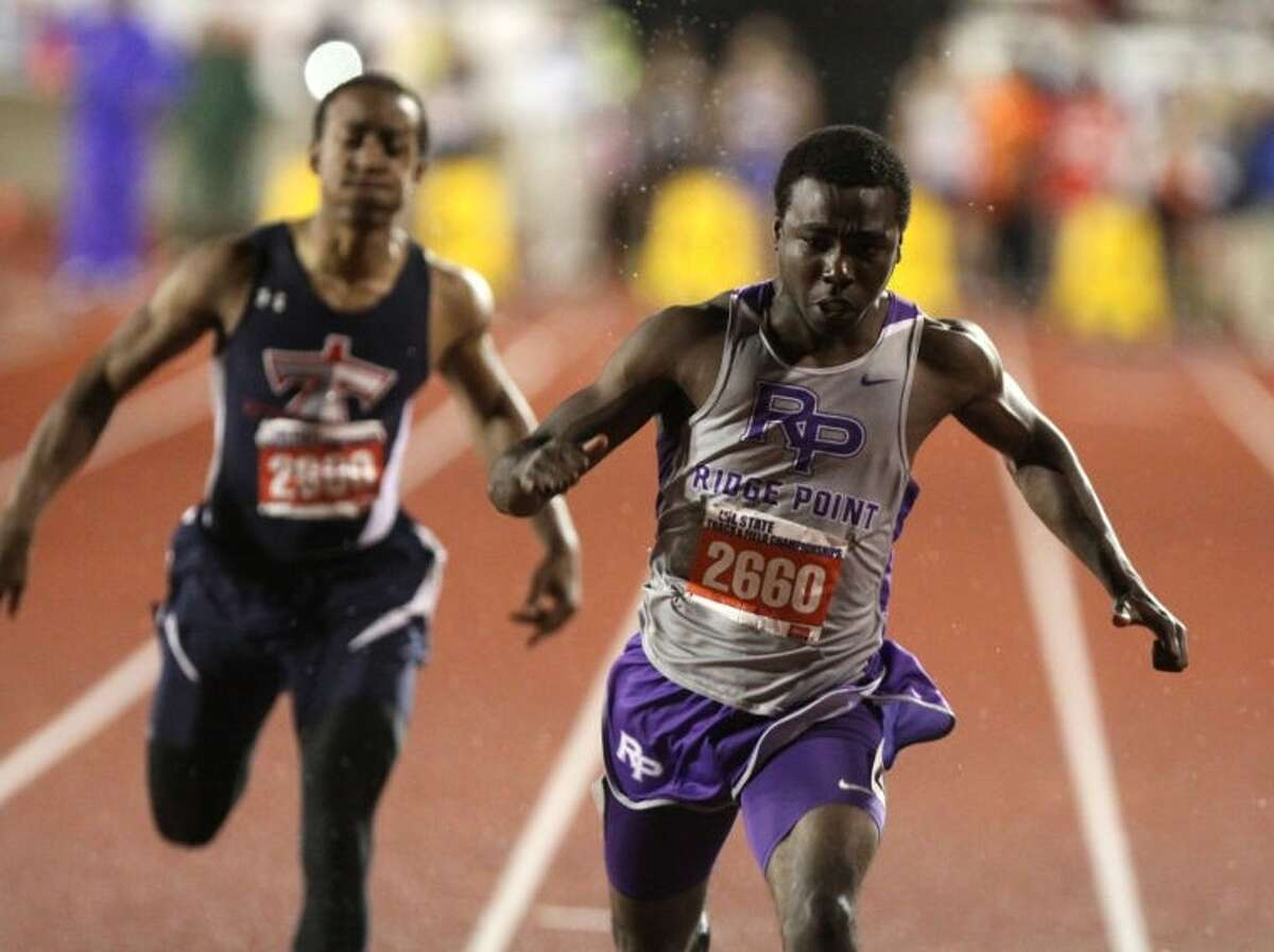 Ridge Point graduate Cameron Burrell and the University of Houston's 400-meter relay team earned second-team All-American status.
