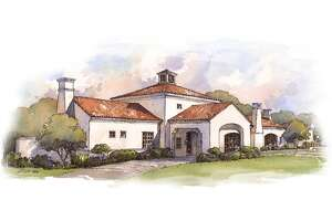 Artist's rendering of the exterior of Signature by Andrew Weissman at the La Cantera Resort & Spa.