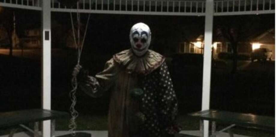 MPD confirmed a clown sighting making Midland the lastest city to following the national trend. Photo: Instagram