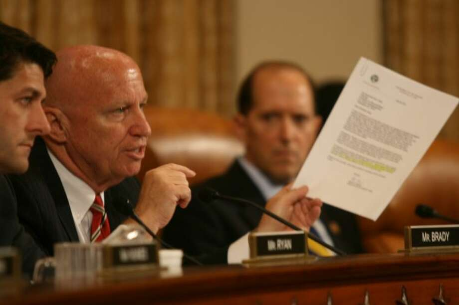 Congressman Kevin Brady, a senior member of the House Ways and Means Committee, points to a letter that shows that the Treasury was made aware of the lost emails before Congress was informed, noting that the Treasury urged the IRS to make Congress aware immediately.