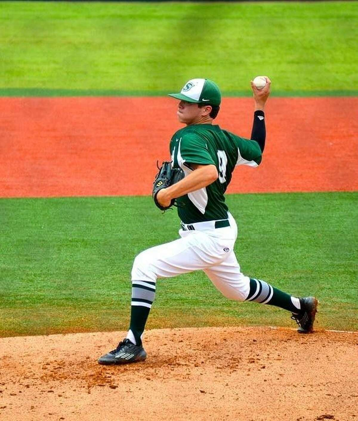 Lutheran South Academy pitcher Evan McDonald, a Houston Baptist University commit, was part of a strong pitching staff for the Pioneers which included Pablo Salazar and Christian Dick.