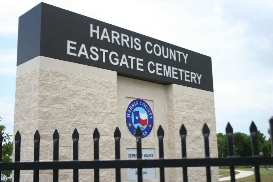 Harris County opened its first new cemetery for indigent burials since the 1923 opening of the historic Oates Road Cemetery, Wednesday on Crosby-Eastgate Road. Photo: Nate Brown