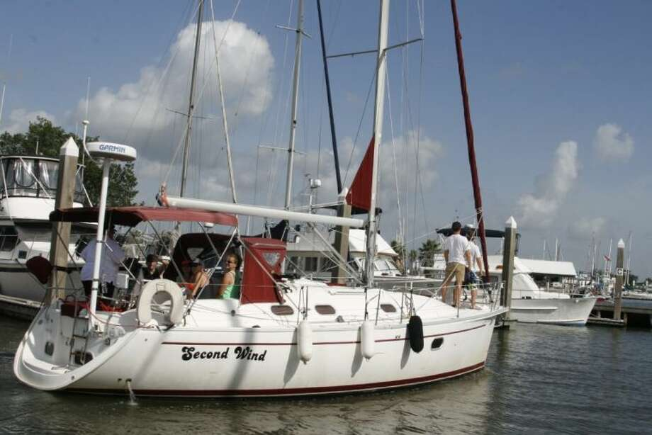 "There were around 14 different sailboats catering to families from the Kingwood area as well as other portions of the Houston area during their most recent sailing adventure called the ""Summer Sailstice"" on Saturday, June 21, 2014."