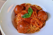 Spaghetti:   Aldo's spaghetti is served with your choice of sauce: pomodoro (vegan) or meat sauce.    CLICK HERE for reservations!