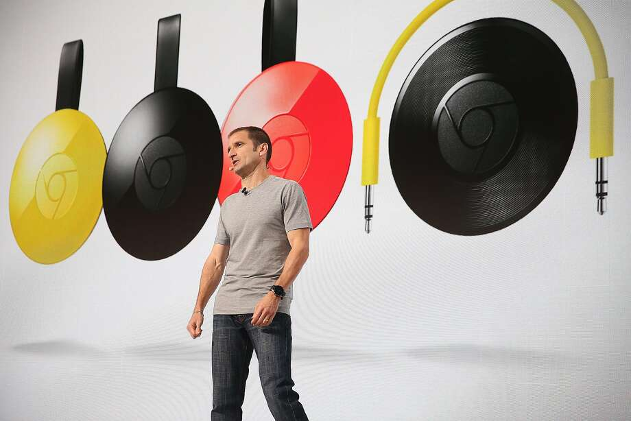 Google's VP of product management Mario Queiroz introduces audio products during a press conference at Fisherman's Wharf on Tuesday, October 4, 2016, in San Francisco, Calif. Photo: Liz Hafalia, The Chronicle